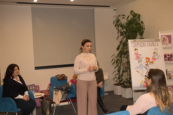 U Bebac startap centru, dr Mirjana Anđelić održala predavanje – Trudnoća i porođaj najsrećniji događaj