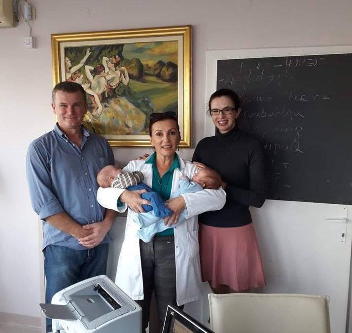 U poseti kod naše drage doktorice Mire! ❤