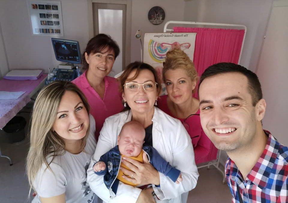 Arsenije u poseti ordinaciji Anđelić
