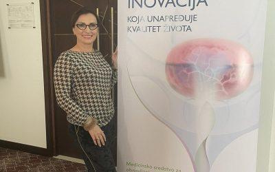 Dr Mirjana Anđelić na prezentaciji novog medicinskog sredstva – Ialuril